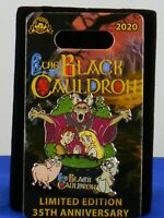 Disney 35th Anniversary THE BLACK CAULDRON HORNED KING LE 2000 Trading Pin
