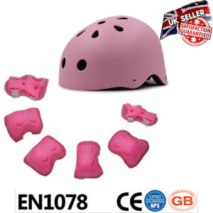 Safety First Kids Adjustable Sport Cycling Scooter Helmet and Knee Pads 7in1