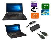 Lenovo ThinkPad T450 Intel Core i5-5300U 2.30Ghz 8GB 256GB SSD