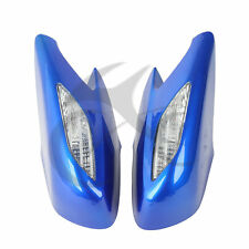 Pair Side Rear View Mirrors With Clear Turn Signal Lens For Honda ST1300 02-11