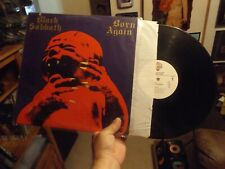 BLACK SABBATH Born Again WARNER 1 23978 Metal LP