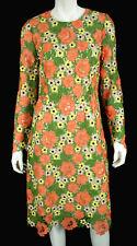 DOLCE & GABBANA $4,995 Multi-Color Floral Guipure Lace Sheath Dress 46