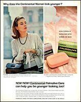 1964 Signora Placido Spadaro Palmolive soap vintage photo Print Ad adL29