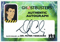 Ghostbusters Cryptozoic 2016 Autograph Card DC Dave Coulier as Dr. Peter Venkman