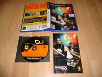 DJ DECKS & FX LIVE SESSION CON ABEL RAMOS Y DJ CHUS PARA LA PS2 USADO COMPLETO