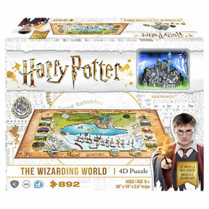 Harry Potter: The Wizarding World 4D Cityscape Jigsaw Puzzle - 892 Pieces