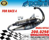 200.0298 MARMITTA POLINI FOR RACE 4 PER MOTORE MINARELLI VERTICALE 50 2T
