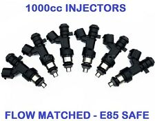 6 1000CC Fuel Injectors for NISSAN NISMO SKYLINE R34 RB25DET NEO DENSO JECS E85