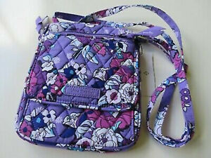 Vera Bradley Enchanted Garden Lighten Up Mini Hipster Small Crossbody Bag Purse
