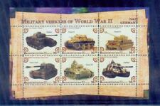 russia / 2018 military vehicles of world war 2. /mnh.good condition