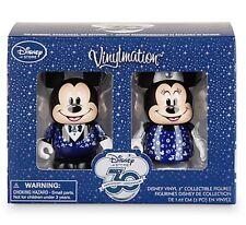 Disney Store 30th Anniversary Vinylmation MICKEY & MINNIE MOUSE Set