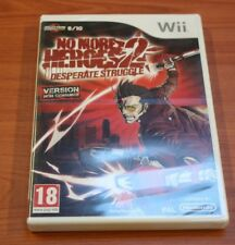 Nintendo WII  NO MORE HEROES 2    neuf  BLISTER VF