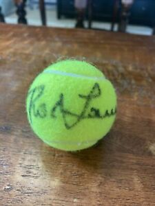 Rod Laver Signed Tennis Ball Psa Dna Coa Penn Autographed