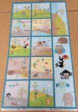 Riley Blake - LIFE IN THE JUNGLE Panel - 100% Algodón - 60cms Panel de tela