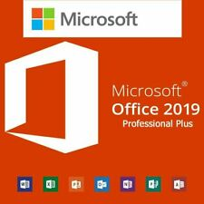 MICROSOFT®OFFICE 2019 PROFESSIONAL PLUS 32/ 64bit License Key Instant Delivery