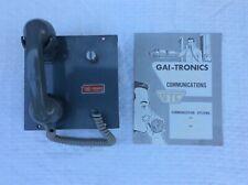 New listing Vtg Gtc Gai-Tronics Intercom Telephone Handset 601 Amplifier Stromberg-Carlson