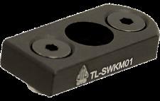 Keymod Sling Swivel Adapter for Quick Detach Push Button Swivels - Black SWKM01