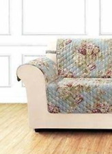 Sure Fit Chair Pet Cover Furniture Throw Ballad Bouquet Robins Egg