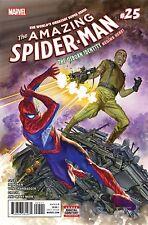 AMAZING SPIDER MAN #25 MARVEL COMICS 2017 REGULAR CV UNREAD NM COPY ROSS COVER