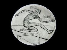 Finnland, 50 Markkaa, 1983, 1. Leichtathletik-WM. in Helsinki, Silber, St.!