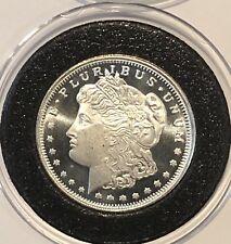 Morgan Dollar Coin 1/4 Quarter Troy Oz .999 Fine Silver Round Collectible Medal