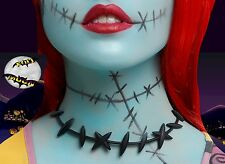 New Disney Nightmare Before Christmas Costume Sally Stitches Choker Necklace
