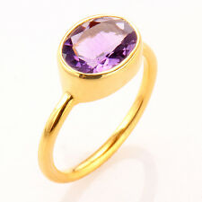2.4 CT Amethyst Gemstone Ring ~ Size 7