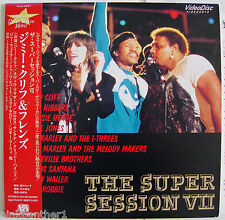 The Super Session VII  Grace Jones  Jimmy Cliff  Carlos Santana  Japan Laserdisc
