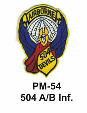 "3"" 504 A/B INF.  Embroidered Military Patch"