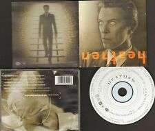 DAVID BOWIE HEATHEN 12 track CD NEW 12 page BOOKLET