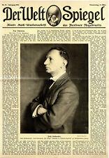 Schriftsteller Felix Hollaender c.1914