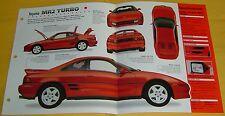 1990 1993 1995 Toyota MR2 Turbo 4 Cylinder 200 hp IMP info/Spec/photo price 15x9