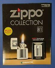 Original Zippo Collection Sturmfeuerzeug Nr.81 BARCODES (1974) Sammlung OVP