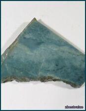 zbv- Rare Blue Vonsen Nephrite Jade Rough Slab!!