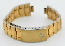 G380 Vintage Seiko King Quartz Gold Watch Bracelet Band Stainless Steel JDM 70.2