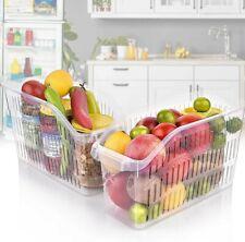 Kühlschrank Lebensmittelkorb Organizer Lagerung Aufbewahrungsbox Obstkorb