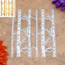 Birch Tree Metal Cutting Dies Stencils DIY Scrapbooking Album Paper Card Crafts