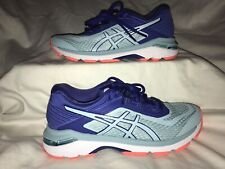 ASICS GT-2000 6 Casual Running Stability Shoes - Navy - Womens Size 6 Worn Once!