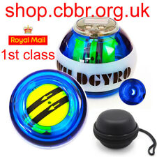 Self-Start Gyroscope Power Ball Dual Gyroscope Wrist Arm Muscle LED + COUNTER