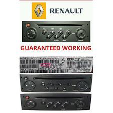 Renault Radio CD + Cassette Player Security Unlock Code