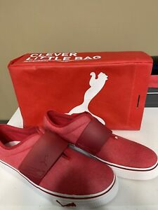 Size 10 - PUMA El Rey II High Red Jester