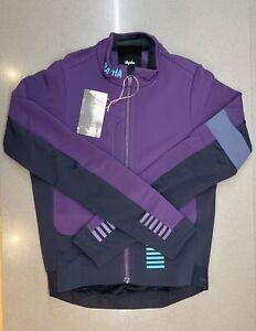 Rapha Men's Pro Team Winter Jacket Purple Dark Navy Medium Brand New With Tag