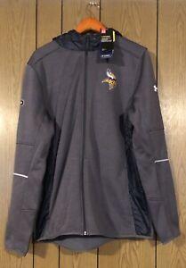 NFL Combine Authentic UA Storm Swacket Minnesota Vikings 1300564 922 XL MRSP 150