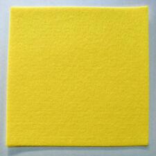 Feutrine JAUNE plaque 29x29cm épaisse 3mm Feutre tissu DIY loisirs créatifs