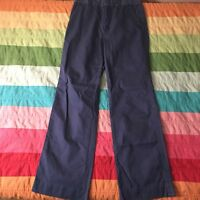 Lilly Pulitzer Solid Blue Boot Cut Pants Size 4 A605