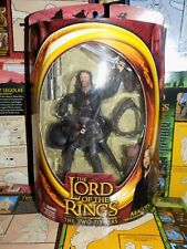 Lord of the Rings Ttt Aragorn Strider The Two Towers Toybiz Mib box New Lotr