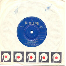 """SILVER STUDS - HAPPY DAYS / I ONLY HAVE EYES FOR YOU - 7""""45 VINYL RECORD 1976"""