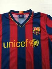 Mens FCB Red/Blue #10 Messi Barcelona Soccer Jersey Sz S