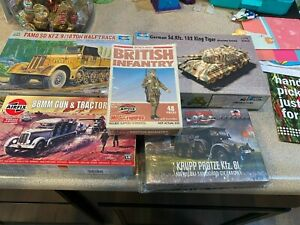 1/72 scale armor and truck lot