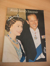 OLD VINTAGE BOOK royal family souvenir royalty pitkin pictorial 1970s queen